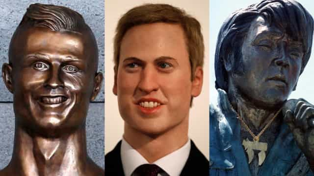 Bizarre celebrity statues from around the world