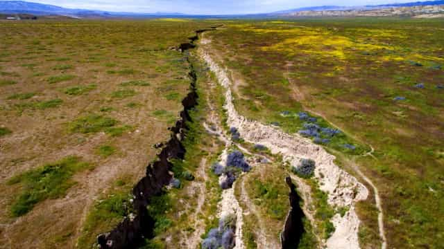 What is the San Andreas Fault?