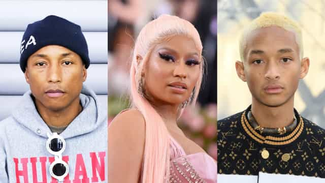 Nicki, Jaden, Pharrell among celebs making strides for social justice