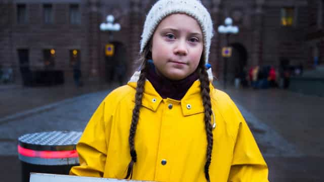 Greta Thunberg: a girl saving the world