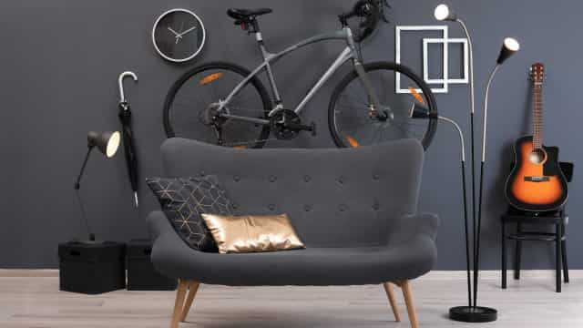 How to include bikes as part of your home decor