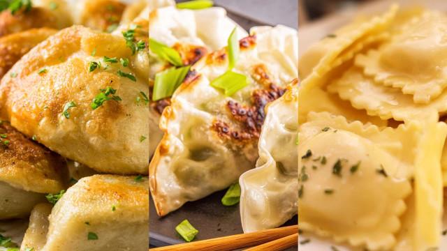 Aptitretande dumplings från hela världen