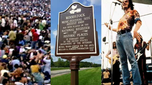 "Woodstock: les 3 jours de ""peace and love"" en images!"