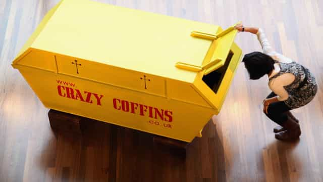 Les cercueils les plus farfelus jamais imaginés