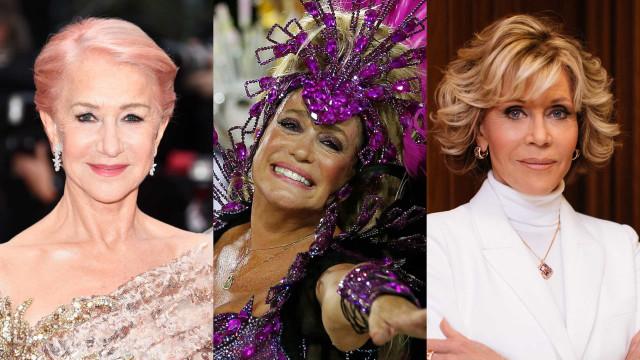 As famosas que continuam arrasando após os 70!
