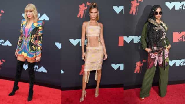 Irreverência domina a passadeira vermelha dos MTV Video Music Awards