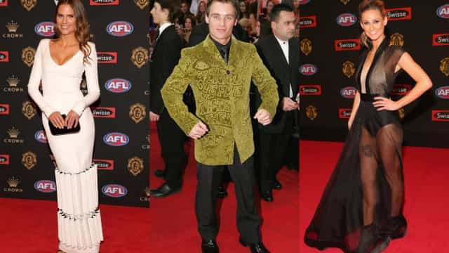 Brownlow Medal: worst looks through the years