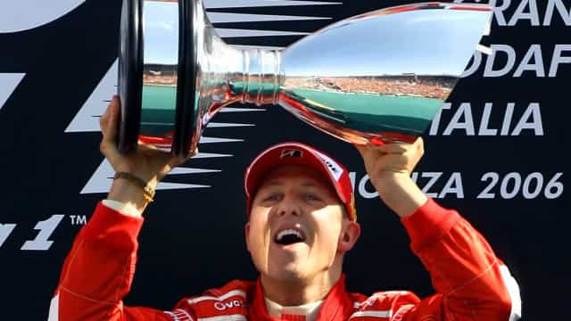 How Michael Schumacher prepared for the race of his life