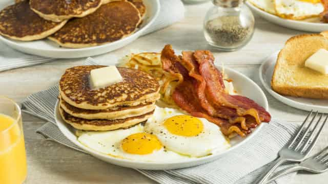 Why are certain foods only eaten at breakfast?