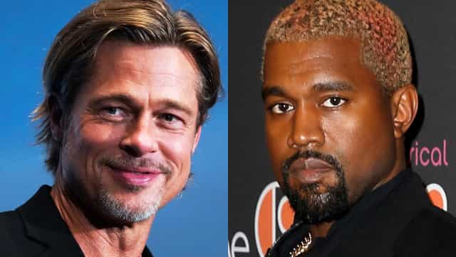 Brad and Kanye, plus other notable celebrity bromances