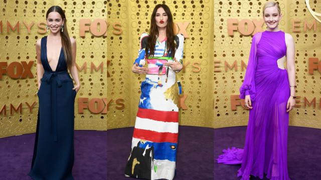 Os melhores e os piores looks na passadeira vermelha dos Emmy Awards
