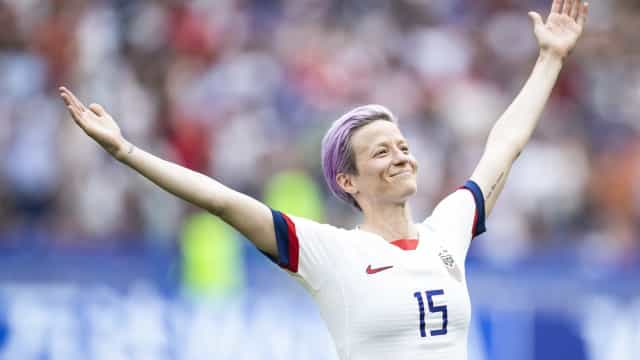 Megan Rapinoe and other popular LGBT athletes around the world