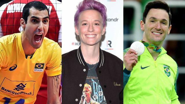 84 atletas brasileiros e internacionais que se assumiram LGBT