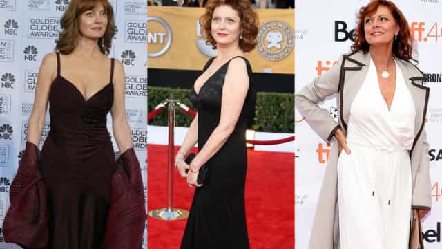 Susan Sarandon's effortless red carpet sex appeal