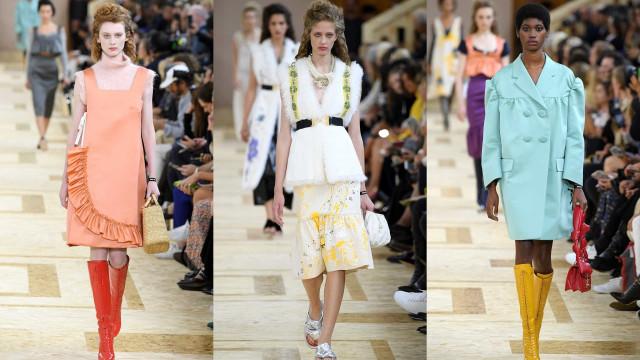 파리 패션 위크 : 미우미우 2020 S/S 컬렉션의 세계로