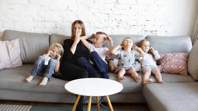 Moeder verzint trucje om kinderen stil te krijgen