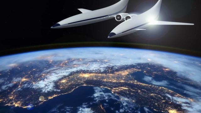 Vliegen we in 2030 met een 'spacevliegtuig' in vier uur van Londen naar Sydney?