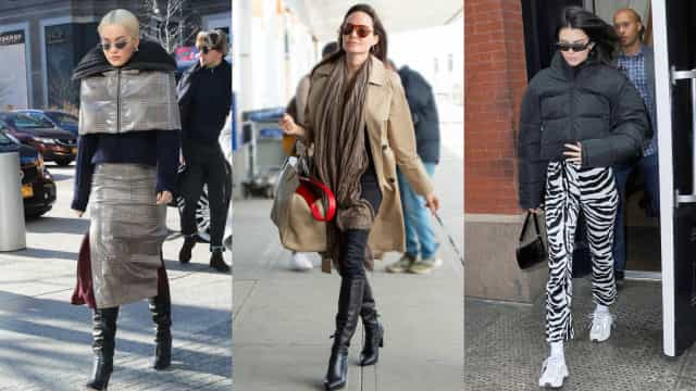 Get inspired by these celebrity winter outfits