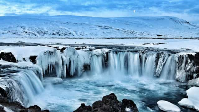 Where to find the world's most wonderful winter waterfalls