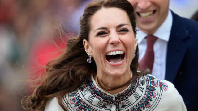 Kate Middleton and her very un-Duchess-like reactions
