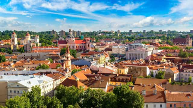 Discover Vilnius through the seasons