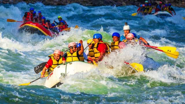River wild: the world's most insane white water rafting destinations