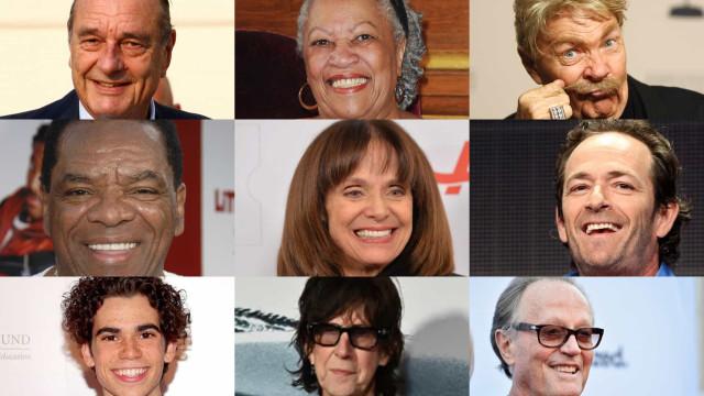 100 personaggi famosi che ci hanno lasciati nel 2019