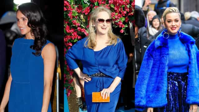 Classic Blue: celebrities rocking the color of the year