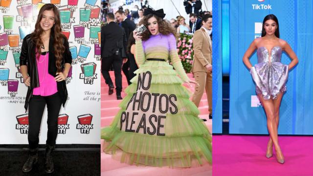 Hailee Steinfeld's style evolution