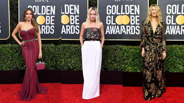 Globos de Ouro 2020: Os looks na passadeira vermelha