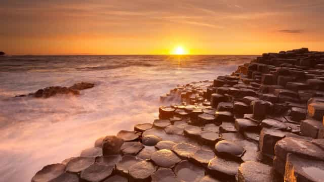 The legend behind the Giant's Causeway