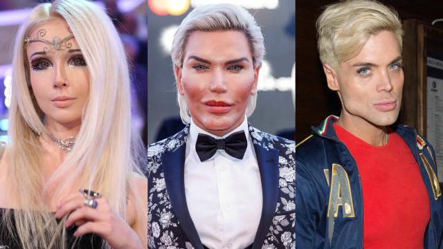 Ex-Ken Humano e outras pessoas que se parecem com bonecos