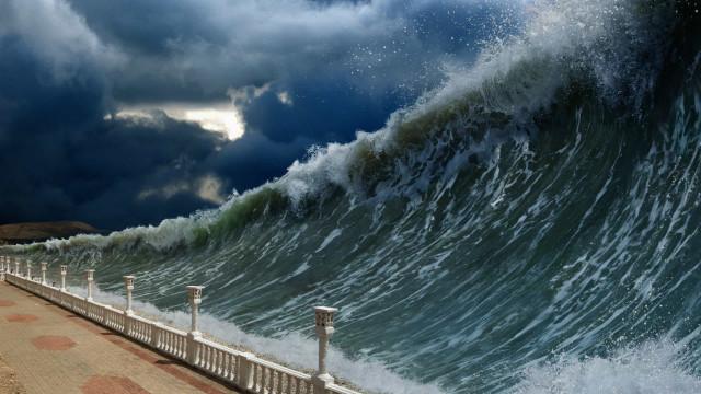 재해가 발생하기 전에 나타나는 자연의 경고