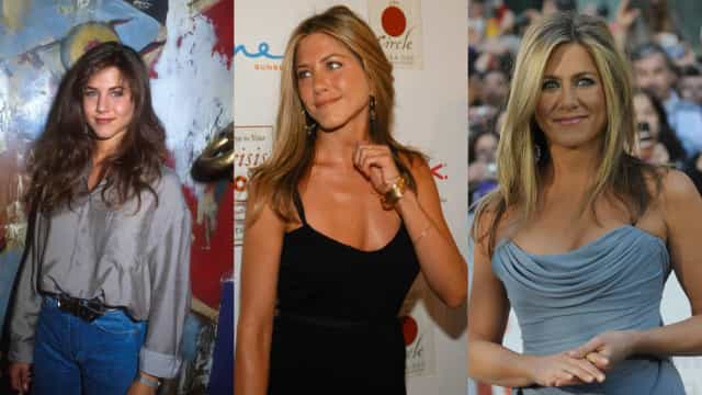 A evolução do estilo de Jennifer Aniston