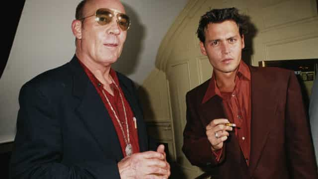 "Inside Johnny Depp and Hunter S. Thompson's ""major love affair"""