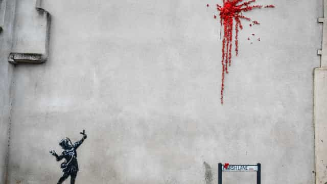 Global graffiti: Banksy's art around the world