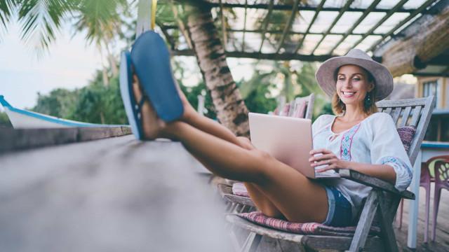 Doorwerken op vakantie, is dit wel gezond ?