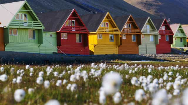 Introducing Longyearbyen, the fastest-warming town in the world