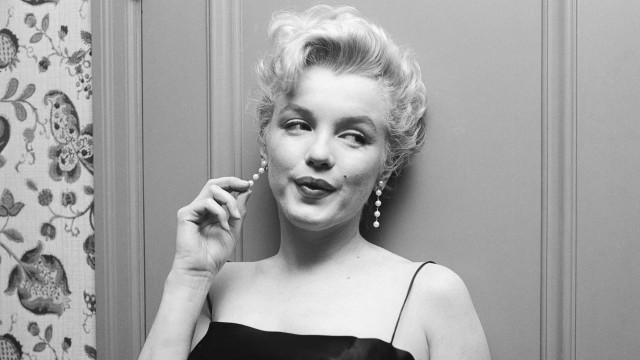 Sjeldne bilder av Marilyn Monroe