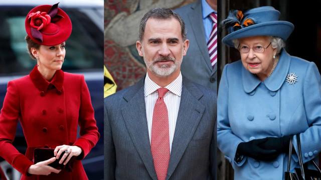 La realeza toma medidas frente al coronavirus