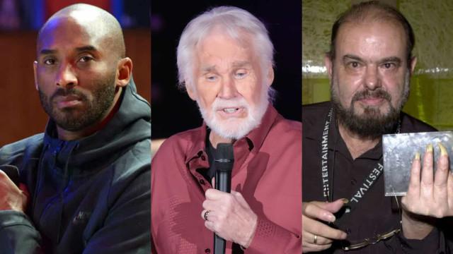 Os famosos que nos deixaram em 2020