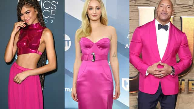 Célébrités : Le rose fuchsia leur va à ravir