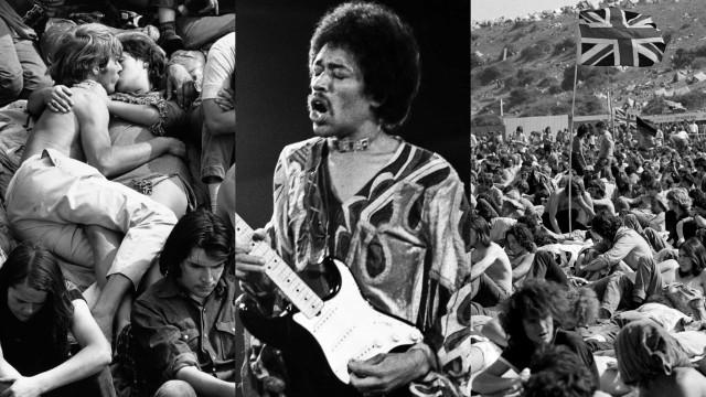 Ein Blick auf das Isle of Wight Festival 1970
