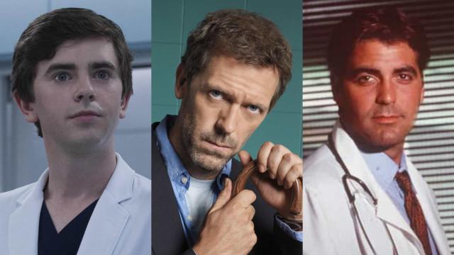 Galãs que viveram médicos icônicos em séries