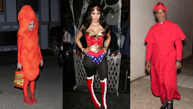 Los mejores (y peores) disfraces de Halloween de las celebridades