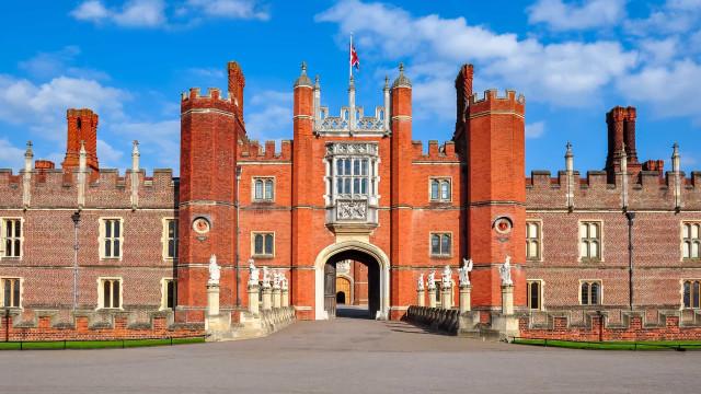 En tur genom Hampton Court Palace