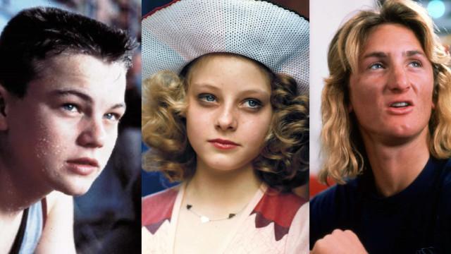 Estrelas de Hollywood e os seus primeiros filmes para maiores de 18