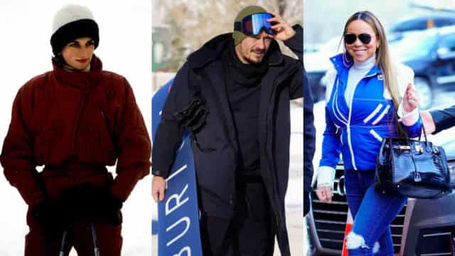 Ces célébrités ont chaussé leurs skis