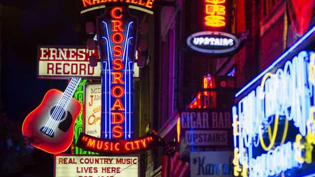 Nashville, a music city of note