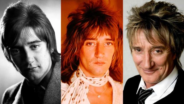Rod Stewarts många olika ansikten